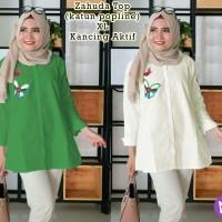 58275/zahuda Top/baju Tunik Wanita/atasan Muslim Murah/baju Murah