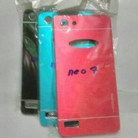 Hardcase Motomo Oppo Neo7 Casing Neo 7 A33 Case Pelindung Belakang HP