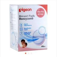 Pigeon Honey Comb Breast Pad 66Pcs