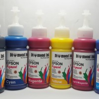 Paket Tinta Printer Epson Pigment Diamond Ink 6 warna