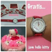 Jual Promo Buket Boneka Hello Kitty Syall Gratis Jam Murah