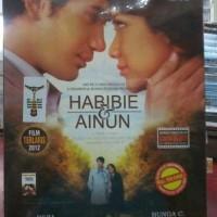 DVD FILM AINUN & HABIBIE Cast BUNGA CITRA LESTARI REZA RAHADIAN
