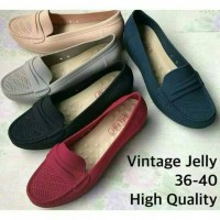 Jual Vintage Jelly Shoes Bara Bara Murah