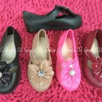 Jual Jelly Shoes Premium Kids Big Flower - Sepatu bayi - Sepatu anak murah Murah