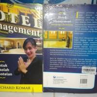 Hotel management Manajemen perhotelan Richard komar sekolah perhotelan