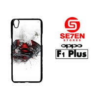 Casing HP Terlaris Oppo F1 Plus (R9) Batman V Superman logo Custom Har
