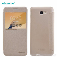 Casing Nillkin Sparkle Leather Case Samsung Galaxy J7 Prime/On 7-Ori