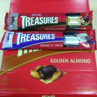 Jual Delfi Treasure Golden Almond & Cookies isi 4's Murah