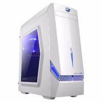 casing pc gaming armaggeddon decatron T3Z putih