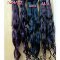 hair extensions human hair /rambut sambung 100% rambut asli 55cm 1ikat