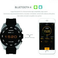 Smart Watch G5 Heart Rate / Smartwatch G5 Top Murah Bagus Black Silver