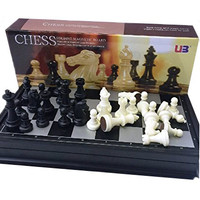 SPESIAL Mainan Anak - Chess Folding Magnetic Board - Papan Catur Mag