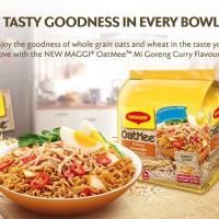 Cemilan Unik Maggi OatMee Mee Goreng Curry Flavour(HALAL) 304g