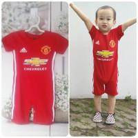 Jual Baby romper Manchester United (jersey bayi) Murah