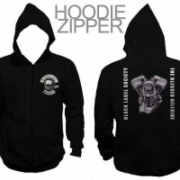 JAKET SWEATER HOODIE ZIPPER BLACK LABEL SOCIETY