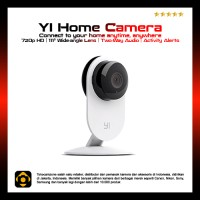 harga Xiaomi Yi Home Camera International Edition White| IP Camera CCTV Tokopedia.com