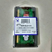 RAM Kingston SODIMM Laptop PC3L 12800 4GB KVR16LS11/4 Original 100%