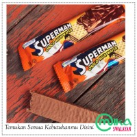 Wafer Superman - Jajanan Jadul 90an