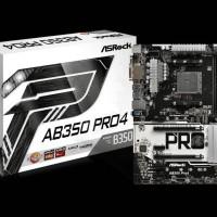 ASRock AB350 Pro4 (AM4, AMD Promontory B350, DDR4, USB3.0, SATA3)