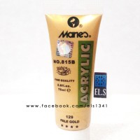 Maries - Pale Gold (Cat Acrylic) Murah