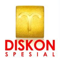 Tiaria 9K Yellow Gold Charm Bracelet Aries Gelang Emas