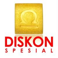 Tiaria 9K Yellow Gold Charm Bracelet Libra Gelang Emas