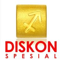 Tiaria 9K Yellow Gold Charm Bracelet Sagitarius Gelang Emas
