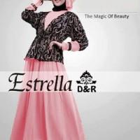 Jual Jual baju muslim wanita spandek pink [estrella peach DR] Murah