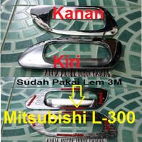 Aksesoris - croum outer handle Mitsubishi L300 Pic up (set=isi 2)