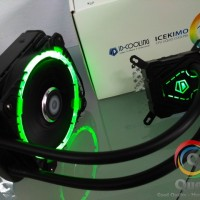 ID-Cooling Icekimo 120 Green AIO Water Cooling CPU Cooler