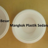 Mangkok plastik besar BSM (50pcs)