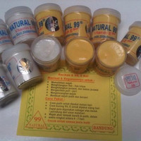 Cream Pemutih Wajah Natural 99 Harga 1pcs (bukan sepasang) ber vit E