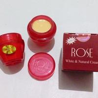 Cream Pemutih Wajah Rose Natural Cream and Moisturizer