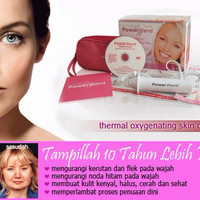 Jual JUAL Power Wand Thermal Oxygeneting Skin Care System Murah