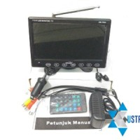 TV MOBIL 7' INCH ON DASH MONITOR HW 798A...Real TFT