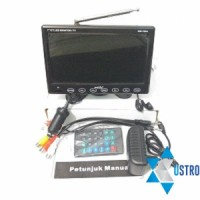 TV MOBIL 7' INCH ON DASH MONITOR + USB/ SD HW 7028A...Real TFT