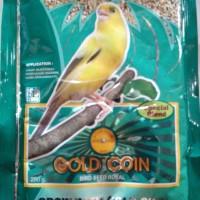 harga Pakan Burung Gold Coin Bird Seed 250gr Bkn Vitamix Tokopedia.com