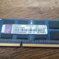 Sodimm Memori Laptop Kingston DDR3 PC-12800S 4GB