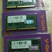 V-Gen Ram Memori DDR3L / DDR3 8gb PC 10600/12800 Sodimm
