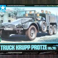 harga Model Kit / Mokit Militer Tamiya 1/48 - Krupp Protze (truck 6 X 4) Tokopedia.com