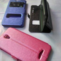 Leather Case Oppo Yoyo R2001 Flip Case Cover Sarung Dompet HP