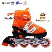 Power Sepaturoda Inline Murah Orange / Sepatu roda Inline Murah Orange