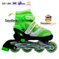 Power Sepaturoda Inline Murah Hijau / Sepatu roda Inline Murah Hijau