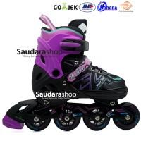 Power King Sepaturoda Inline Roda FULL Karet Unggu / Sepatu roda