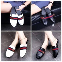 Sepatu Batam Gucci Venuss Fashion Wedge Shoes 50306