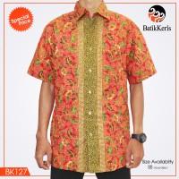 harga * Kemeja Batik Keris Asli* Lengan Pendek (brand New ) Bk-127 Tokopedia.com