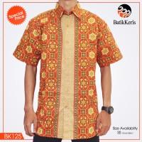 harga * Kemeja Batik Keris Asli* Lengan Pendek (brand New) Bk-125 Tokopedia.com