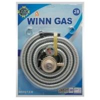 Jual WINN GAS Regulator dan Selang Kompor Gas 1,8 meter Murah