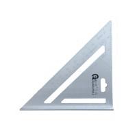 7 Inchi Siku Tukang Segitiga Aluminium Carpenter Speed Quick Square