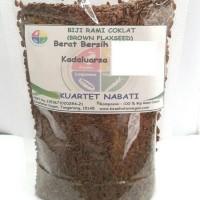 Brown Flaxseed (Biji Rami) 1000 gr